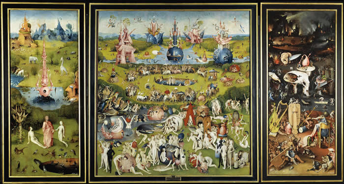The esoteric hieronymus bosch for The garden of earthly delights
